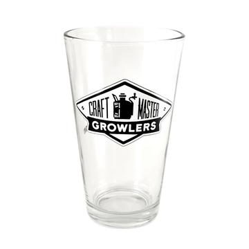 pint glass front view